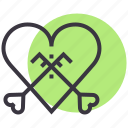 engagement, heart, key, love, marriage, romance, valentines icon