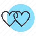 engagement, heart, love, marriage, romance, valentines, wedding icon