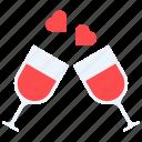 date, love, romance, toast, valentines, wine, hygge