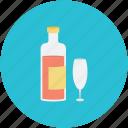 alcohol, beverage, bottle, drink, glass