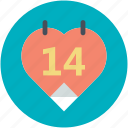 14 february, dating, heart calendar, love inspiration, valentine day