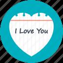 i adore you, i like you, i love you, i want you, te amo