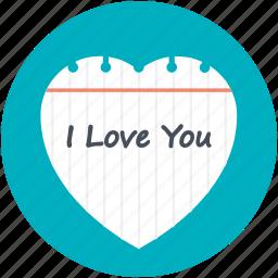i adore you, i like you, i love you, i want you, te amo icon