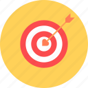 day, hit, love, propose, romance, target, valentines icon