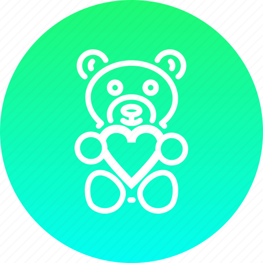 bear, day, gift, love, romance, teddy, valentines icon