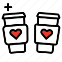 celebration, heart, love, romantic, valentines day icon