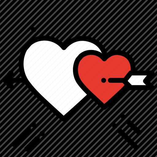 engaged, heart, proposal, romance, valentines day, wedding icon