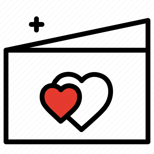 gift, greeting card, love, proposal, romantic, valentines day icon
