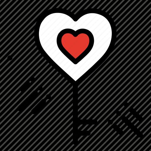 celebration, heart, love, party, valentines day, wedding icon