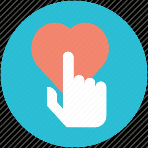 finger touch, heart, heart touch, heart touching finger, love icon