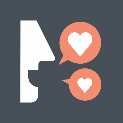 charming, hearth, love, love talk, valentine, valentine's, valentines day icon
