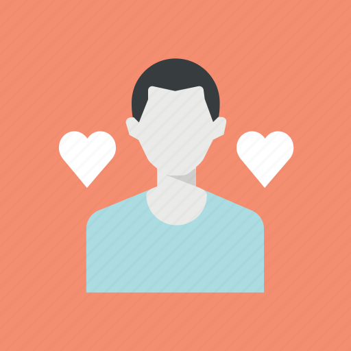 boy friend, love, man, valentine, valentine's, valentines day icon