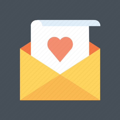 email, hearth, letter, love, mail, valentine, valentine's icon