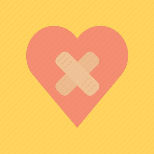 break, engagement, hearth, love, valentine, valentine's icon