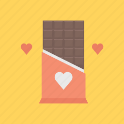 chocholate, depression, hearth, love, valentine, valentine's, valentines day icon