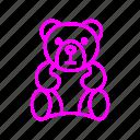 bear, valentine, love, gift, birthday, gifts