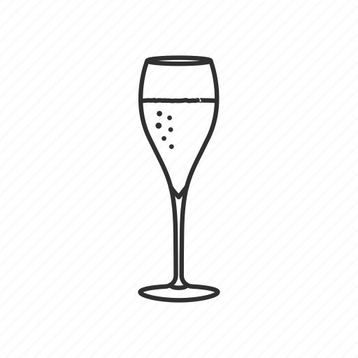 brandy, chamgpagne, champagne glass, drink, glass, wine, wine glass icon