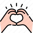 hand, heart, love, romantic, valentines