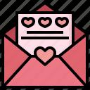 letter, wedding, invitation, love, romance, valentines, day
