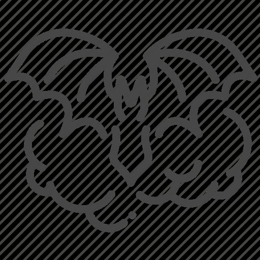 bat, halloween, horror, monster, transform, vampire, wings icon