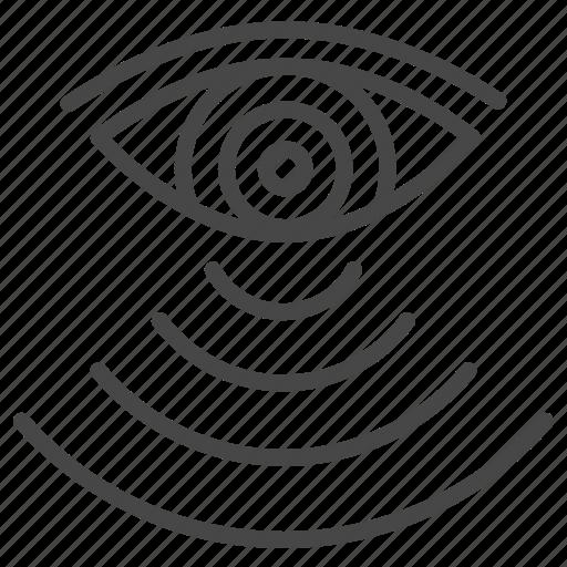 eye, hypnosis, magnetize, mesmerize, stare, vampire, vision icon