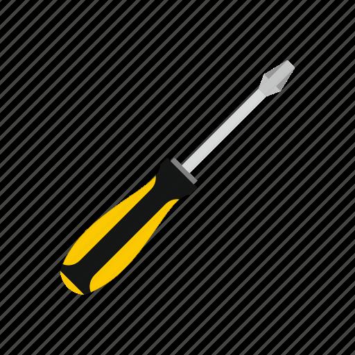 construction, repair, screw, screwdriver, steel, tool, work icon