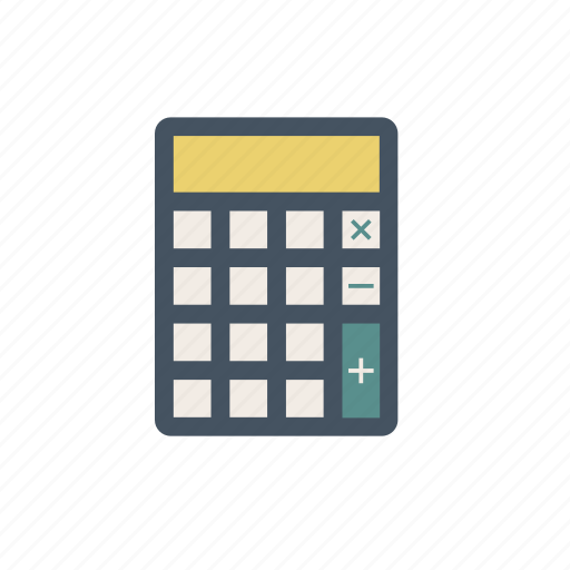calculator, mathematics, numbers icon