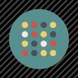 cells, colors, dna, healt, medical icon