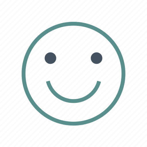 emoticon, face, smile icon