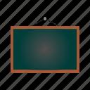 blackboard, education, learning, school, study icon