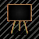 blackboard, book, education, learning, school, study icon