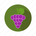 cooking, food, fruit, grapes, kitchen icon