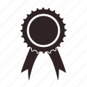 award, badge, medal, prize, trophy, winner icon