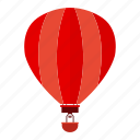 airplane, flight, fly, hot air balloon, plane, travel icon