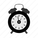 alarm, alarm clock, clock, time, timer, watch icon