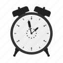 alarm, alarm clock, clock, time, watch icon