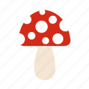 cooking, food, fruit, kitchen, mushroom, restaurant icon