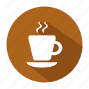 alcohol, coffee, coffee cup, cup, drink, glass icon