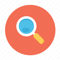 discover, find, looking, magnifer, magnifying glass, search icon