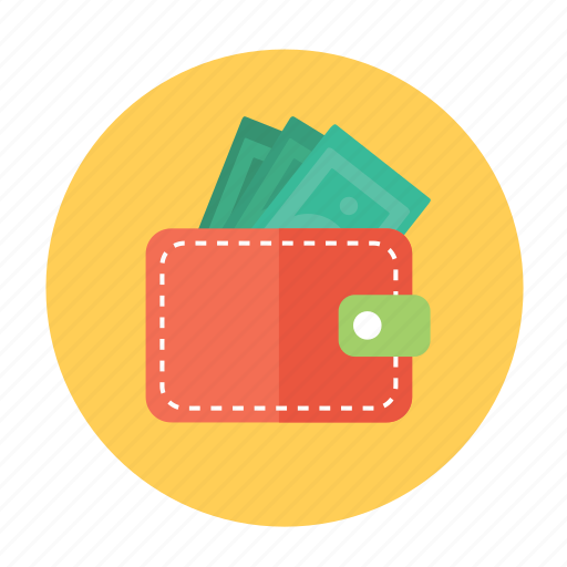 money, pay, payment, purse, wallet icon