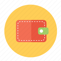 money, pay, purse, wallet icon