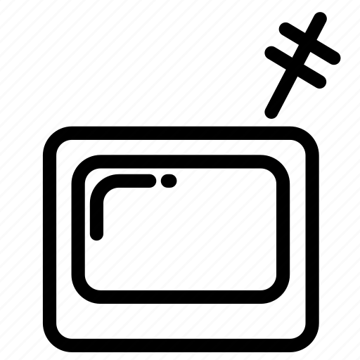 broadcast, media, movie, office, screen, tv, video icon