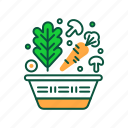food, greens, health care, healthy, lifestyle, vegan, vegetable icon