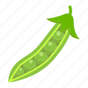 diet, food, health, peas, vegetable, vegetarian, vitamin icon