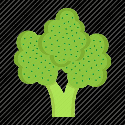 broccoli, diet, food, health, vegetable, vegetarian, vitamin icon