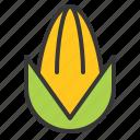 corn, food, fresh, green, vegan, vegetable, vitamin