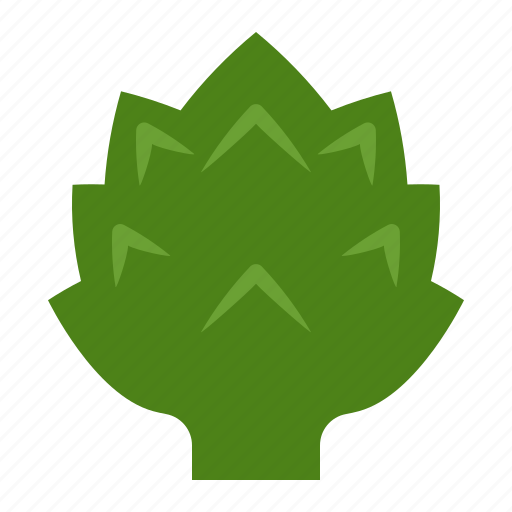 artichoke, crop, farming, fresh, organic, vegetable icon