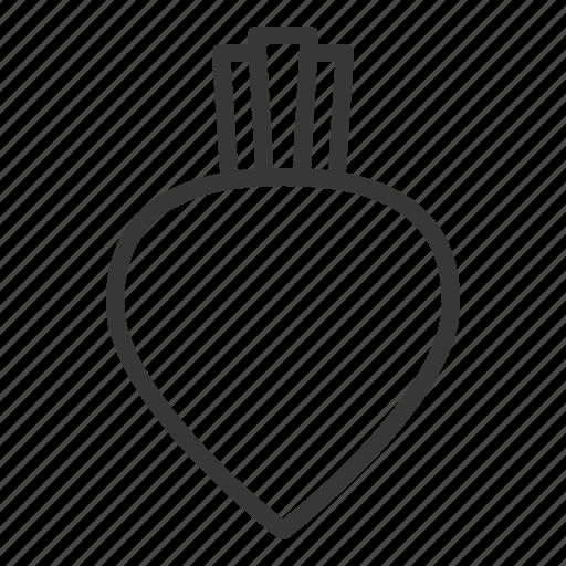 beetroot, crop, fresh, organic, vegetable icon