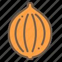 food, onion, organic, vegetable icon