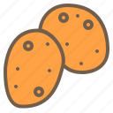 food, organic, potato, vegetable icon